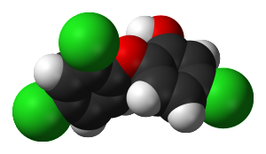 triclosan molecule