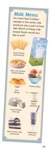 Milk Menu illustration