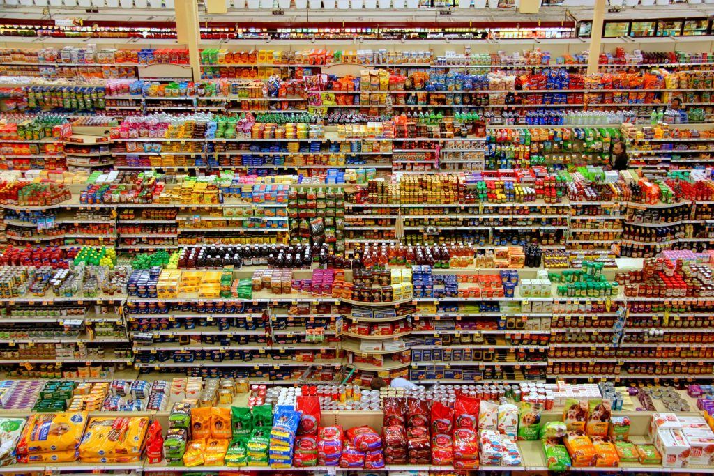 large grocery store